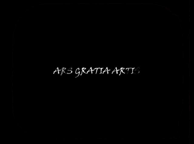 ars gratia artis art for art 39 s sake. Black Bedroom Furniture Sets. Home Design Ideas