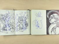 Moleskine Sketchbooks '09-'13