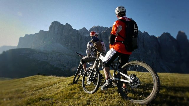 Besuch bei der K&ouml;nigin - Eine Dolomitentour
