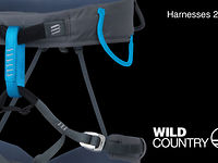 [James Pearson Shows off the new Harnesses from Wild Country]