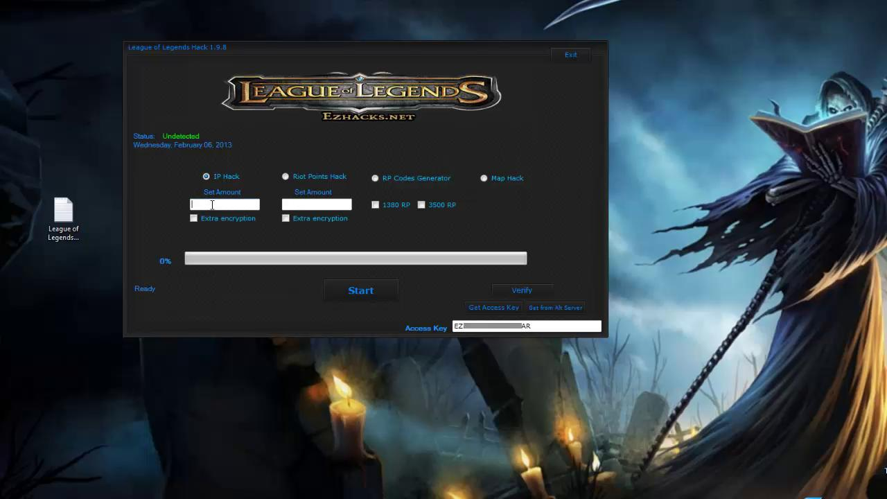 League Of Legends No Cd Hack