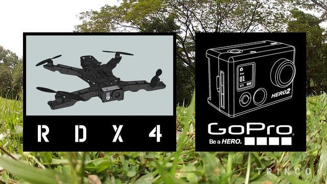 Quad FPV - RDX4 High Speed Close Proximity