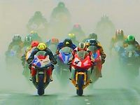THE ROAD WARRIORS . Irish Road Racing and Southern 100, Isle of Man. 325kmh = 202mph