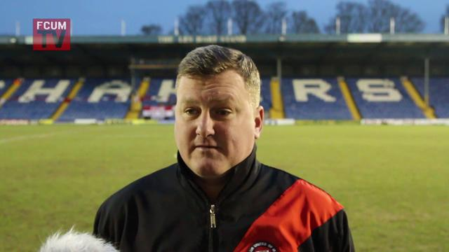 Karl Marginson Post Match Interview AFC Fylde