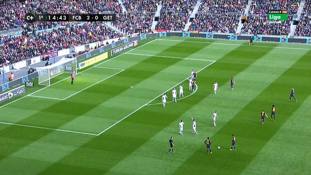 Lionel Messi vs Getafe HD 720p (10/02/2013)