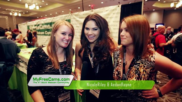 MyFreeCams at AVN Adult Entertainment Expo 2013 Las Vegas