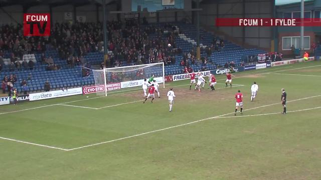 FCUM v AFC Fylde - Goals