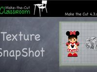 Creating Snap Shot Textures in Make the Cut software