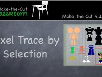 Pixel Trace by Selection - Make the Cut Software