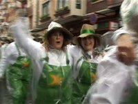 Izartxoren inauterietako desfilea