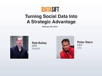 Webinar - Turning Social Data Into A Strategic Advantage