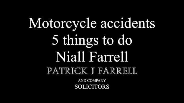 5 tips for Motorbike accidents
