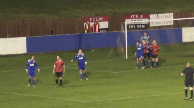 Frickley 2-4 FC Utd. 12 Feb 2013.