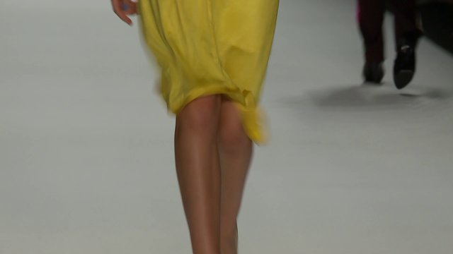"anja gockel fashion show: summer 2013 ""sunny side up"" Mercedes-Benz Fashion Week Berlin"