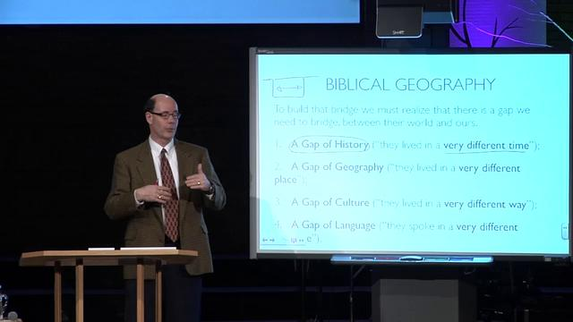 How to Interpret the Bible Correctly:The Bridge of Bible Geography