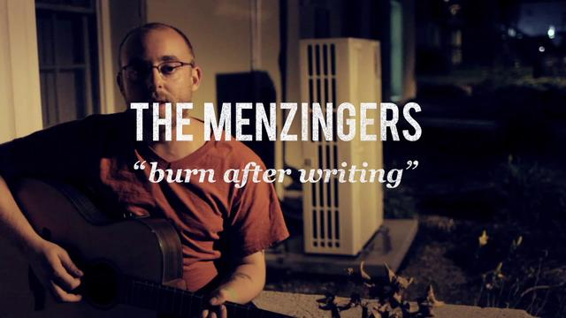 'Burn After Writing' The Menzingers
