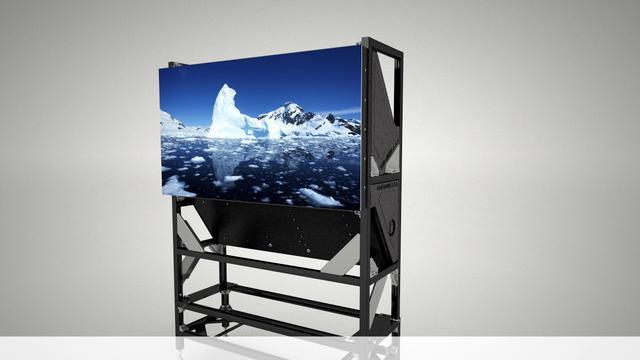 Barco LED (rear-projection) video walls: Advanced liquid cooling