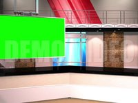 Virtual Studio 12 – Desk 01 Left Animated