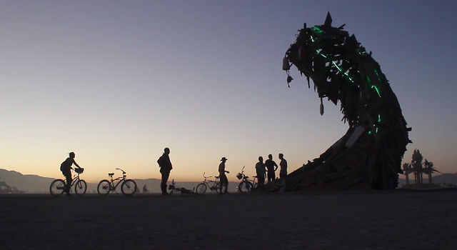 Breaking Wave (a Burning Man Art Doc) part 3 of 4