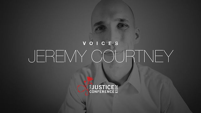Jeremy Courtney | The Justice Conference