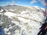Ski & Fly am Monte Pana, 02/2013