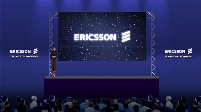 Ericsson UK & Ireland 'Cosmic'  Strategy Employee Presentation – Opening Animation Sequence