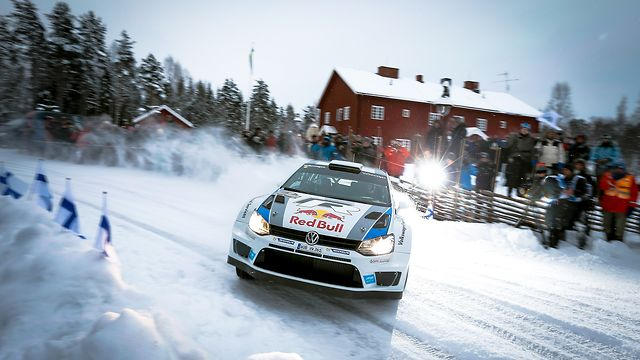 Volkswagen Polo R WRC - Rally Sweden 2013