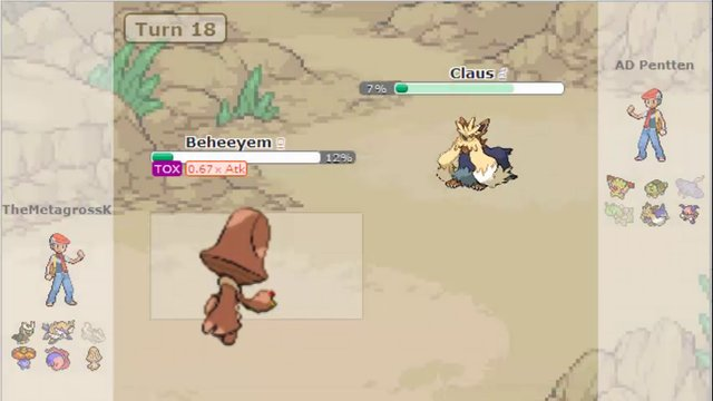 Pokemon Showdown Nu Battle 1 On Vimeo