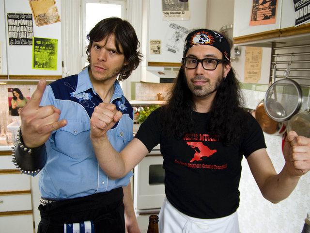 Judas Feast - heavy metal cooking show demo