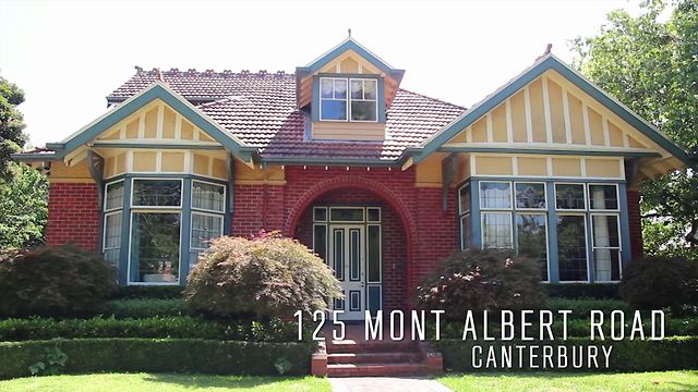 125 MONT ALBERT ROAD CANTERBURY