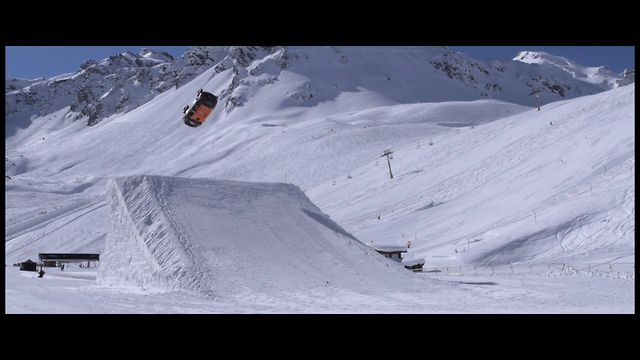 First Backflip Guerlain Chicherit - Mini JC Works  - Tignes  / Dir : JF Tatin