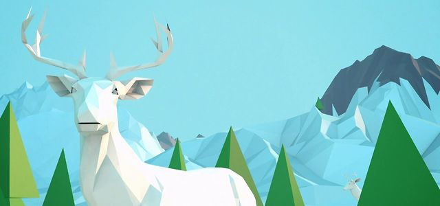 Low Poly – Arctic animation
