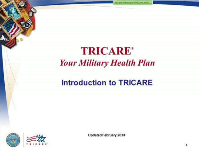 Introduction to TRICARE (B)