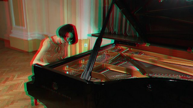 Piano love - 3D version