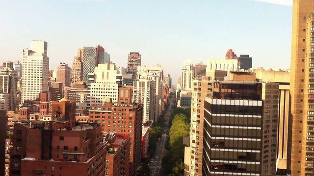 Manhattan viewed from Roosevelt Island Tramway