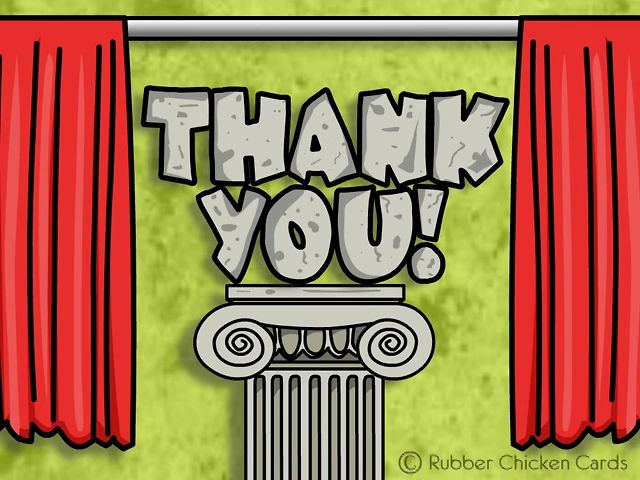 Rube goldberg thank you animated machine by mayra guerrero