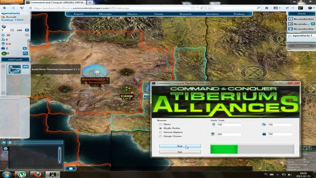 Command And Conquer Tiberium Alliances Cheats Hacks