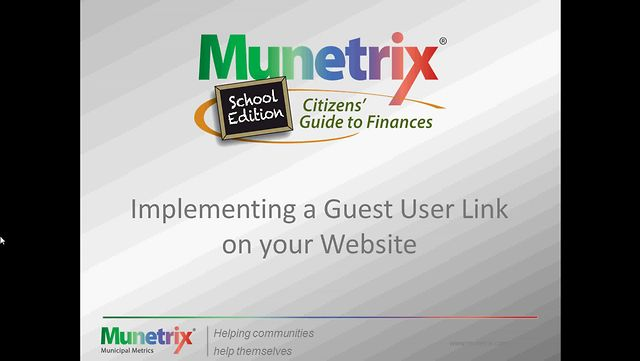 Implementing a Guest User Link on Your Website