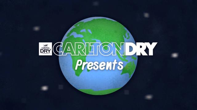 A minute at Bear Plaza - 'Northern Heights presented by.... Carlton Dry'