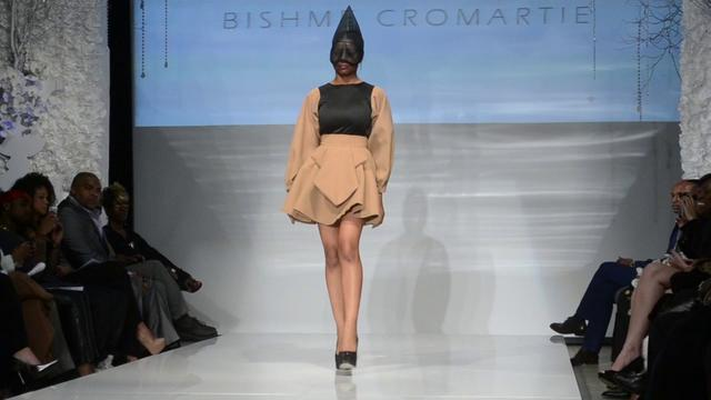 Bishme Cromartie Behind The Scenes of New York Fashion Week