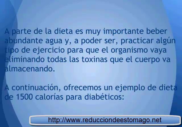 Dieta 1500 calorias para Diabeticos on Vimeo