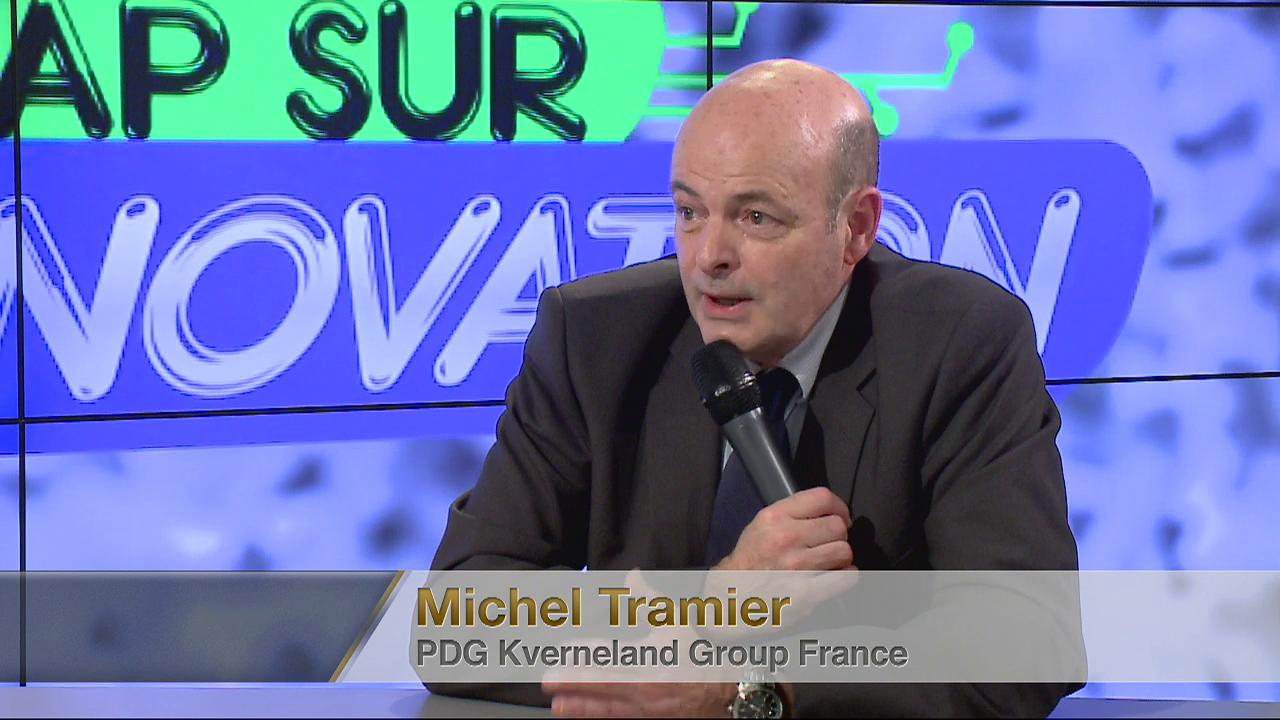 Invit : Michel Tramier (PDG Kverneland France)