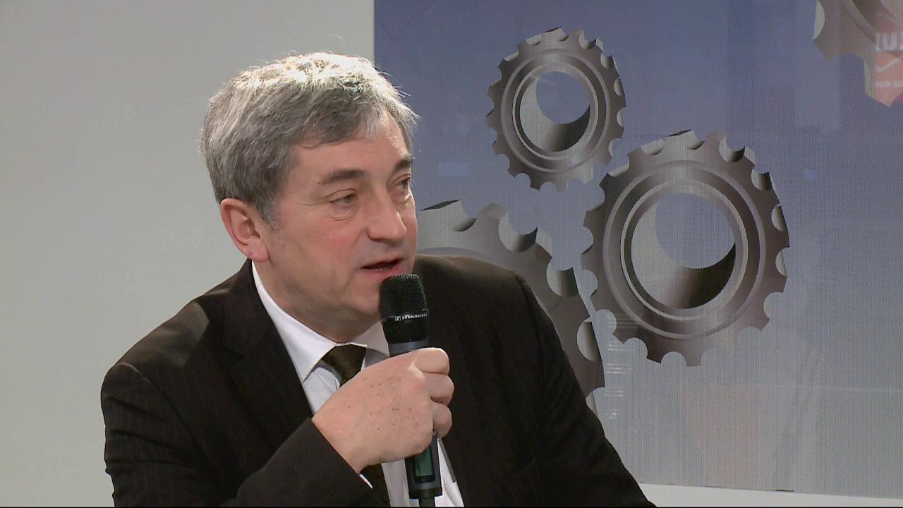 Invits : Alain Berger (Dlgu Interministriel aux Industries Agroalimentaires et de l&#39;Agro-industrie) et Michel Morel (Prsident de l&#39;APRODEMA)
