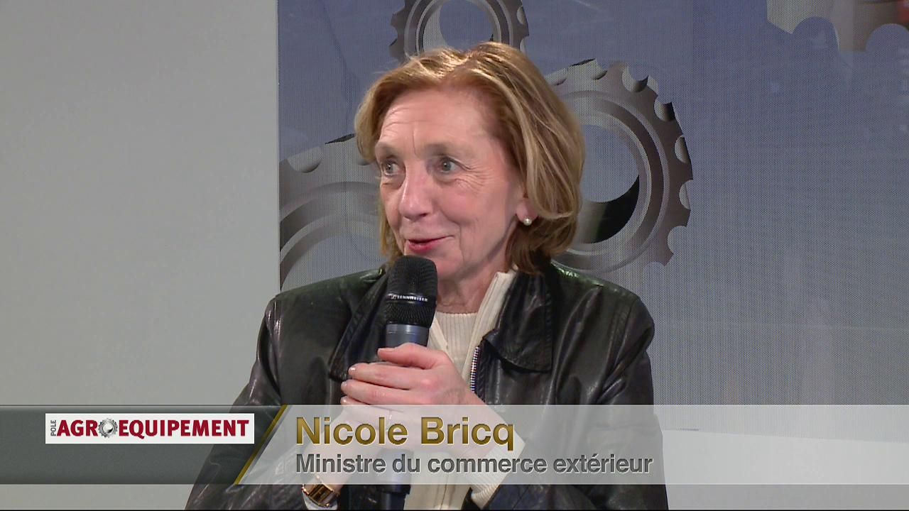 Invit : Nicole Bricq (Ministre du Commerce Extrieur)