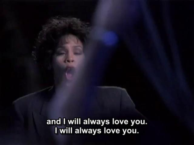 Whitney Houston I Will Always Love You