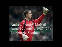 """Andrew """"Andy"""" McNeil - Goalkeeper"""