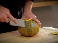 How to Peel and Dice Kabocha Squash