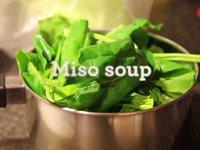 Salmon Soba Miso Soup