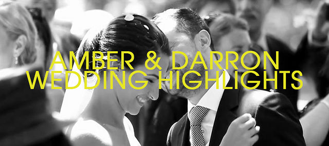 Darron &amp; Amber - Wedding Highlights - Sunday 27th January 2013