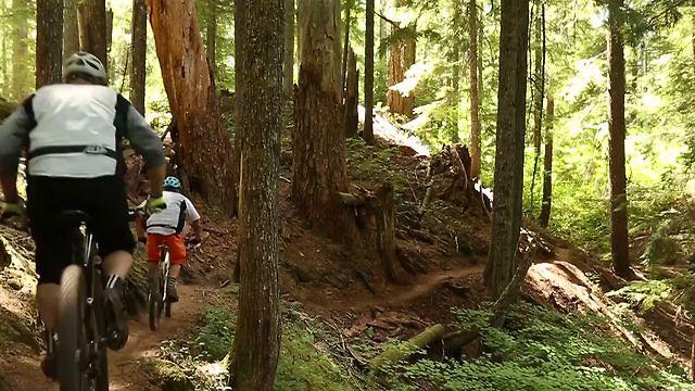McKenzie River Trail Mountain Biking (Part 1)